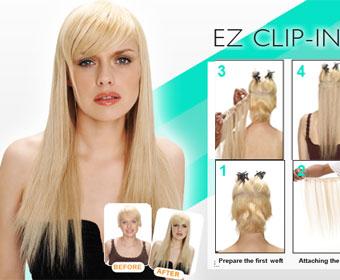 EZ Clip Ins