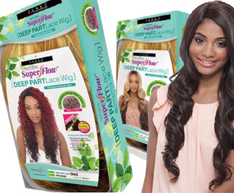 Super Flow Deep Part Lace Wigs