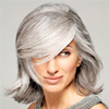 White and Gray Hair