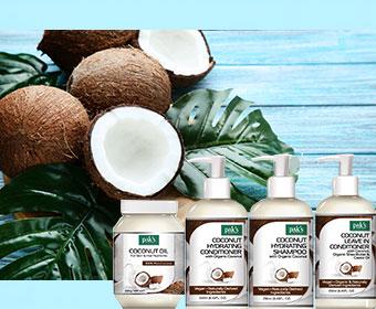 Coconut Oil Range