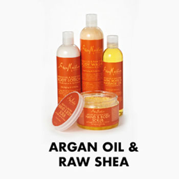 Shea Moisture Argan Oil And Raw Shea