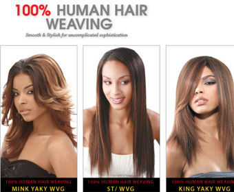 Human Hair by Janet