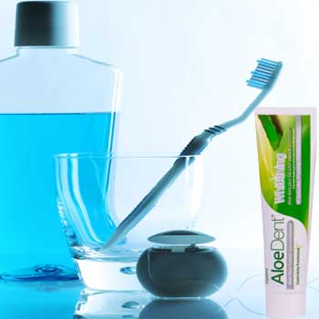 Mouthwash and Toothpaste