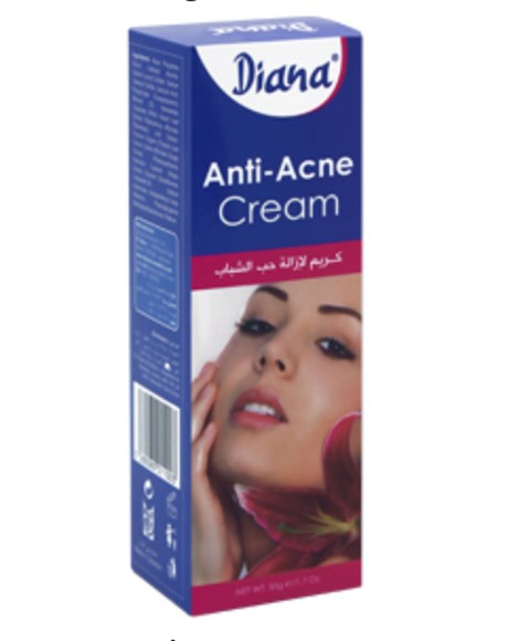 diana diana anti acne cream pakcosmetics. Black Bedroom Furniture Sets. Home Design Ideas