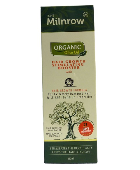 Organic Olive Oil Hair Growth Stimulating Booster June Milnrow Paks Co Uk