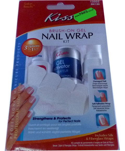 Kiss Brush On Gel Nail Wrap Kit