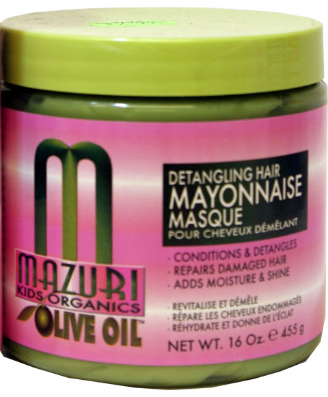 WOULD MAYONNAISE BE A GOOD SUBSTITUTE FOR HAIR CONDITIONER? IT'S