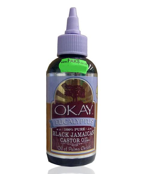how to use okay black jamaican castor oil