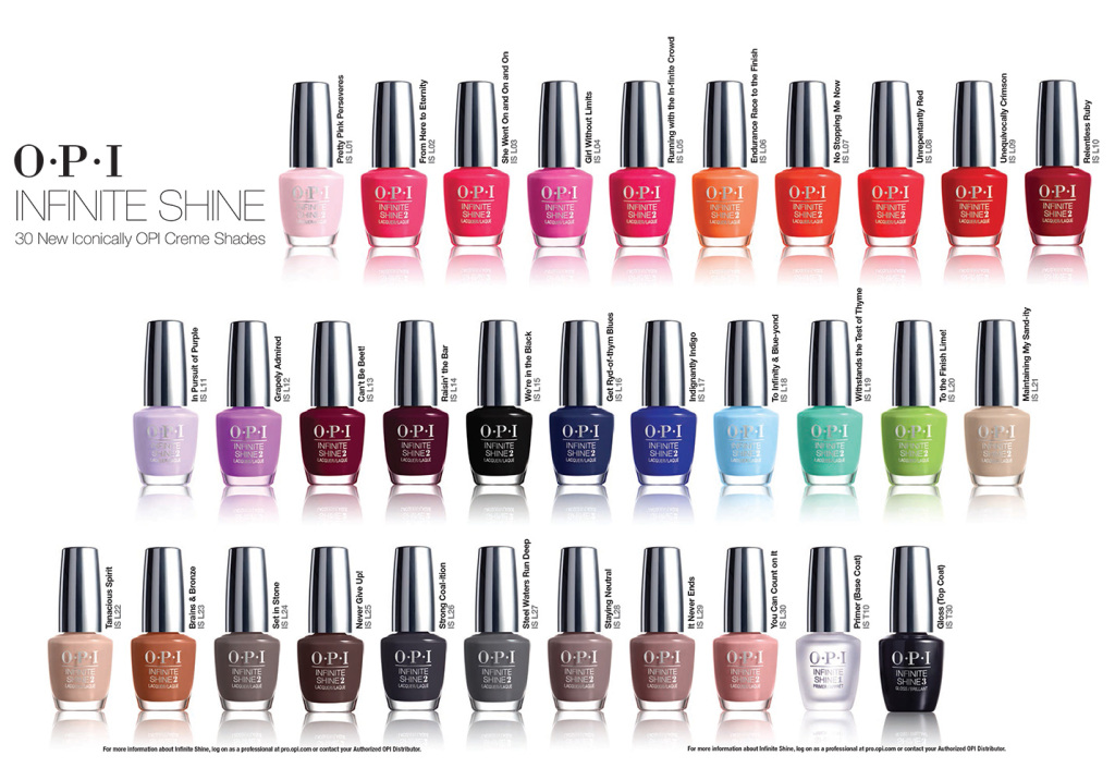 opi infinite shine sverige