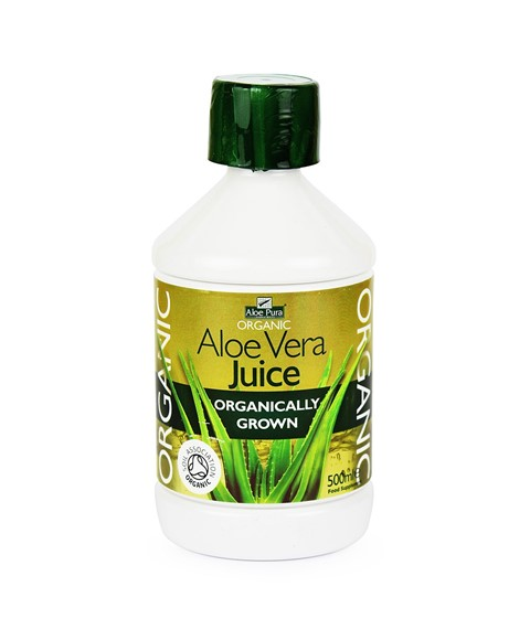 100 percent aloe vera juice
