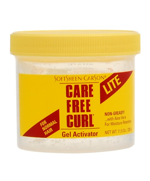 Softsheen Carson Care Free Curl Care Free Curl Lite Gel