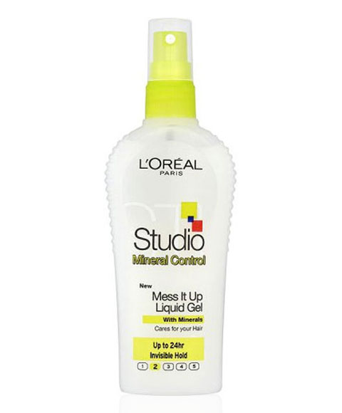 loreal studio studio mineral control mess it up liquid gel