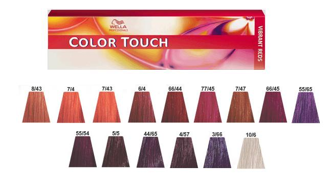 color touch demi permanent hair wella professionals - Coloration Wella