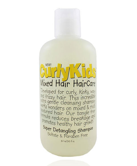 Kids Shampoo For Curly Hair Curly Kids Mixed Hair Care
