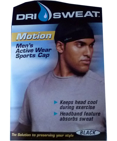 Durags Dri Sweat Motion Mens Active Wear Sports Cap