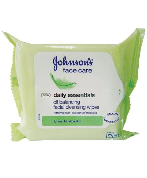 Mens daily facial wipes