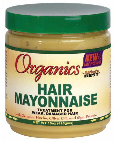 Conditioning your hair with Mayonnaise. It's one of the worst days a woman can have: A bad, frizzy, unattractive hair day and no time and / or money to buy an