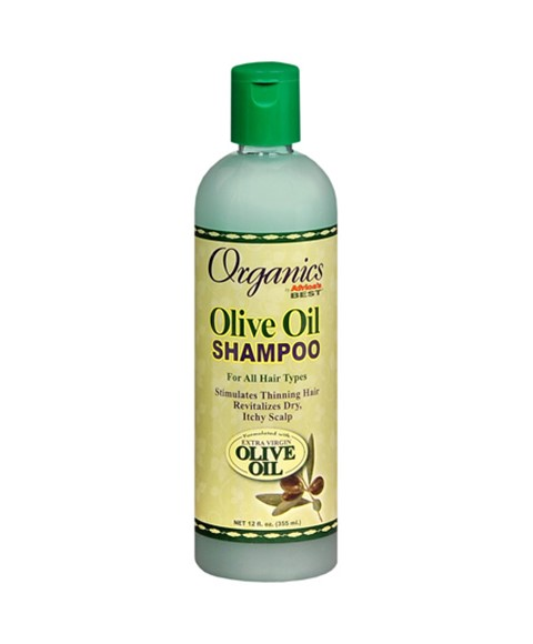Shampoo with olive oil