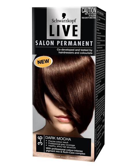 Schwarzkopf live live salon style permanent colours for Salon schwarzkopf