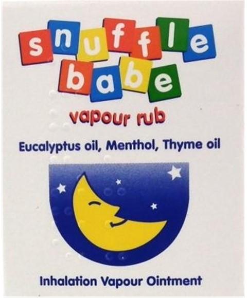Paks Best Sellers Snuffle Babe Vapour Rub Pakcosmetics