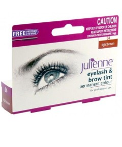 Julienne Eyelash And Brow Light Brown
