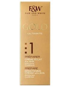Gold Ultimate Prepare Cream With AHA