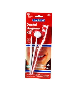 First Aid Dental Hygiene Kit