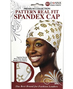 Premium Collection Pattern Real Fit Spandex Cap