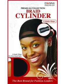 Premium Collection Braid Cylinder 22032 Black