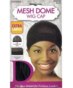 Donna Mesh Dome Wig Cap 22538 Black