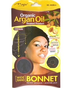 Magic Collection Organic Argan Oil Bonnet 3003BLA
