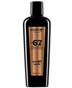 Mash Up Haircare No 67 Classy Brown Colouring Shampoo