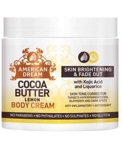 American Dream Cocoa Butter Lemon Body Cream