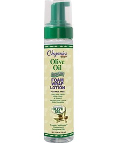 Organics Olive Oil Silkening Foam Wrap Lotion