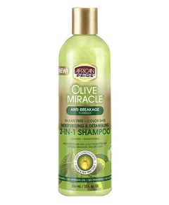 Olive Miracle Anti Breakage 2 In1 Shampoo And Conditioner