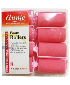 Annie Foam Rollers Pink