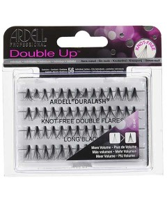 Ardell Double Up Knot Free Double Flares Lashes Long Black