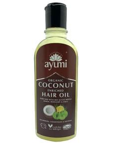Ayumi Naturals Organic Coconut Hair Oil