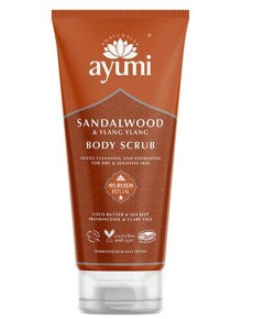 Ayumi Naturals Sandalwood And Ylang Ylang Body Scrub