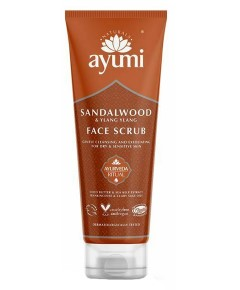 Ayumi Naturals Sandalwood And Pink Clay Face Scrub