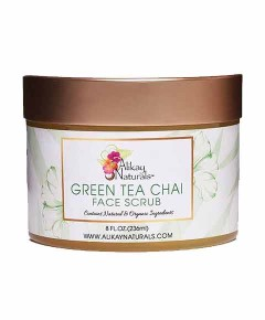 Green Tea Chai Face Scrub