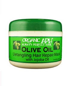 Organic APH Olive Oil Detangling Hair Repair Mask