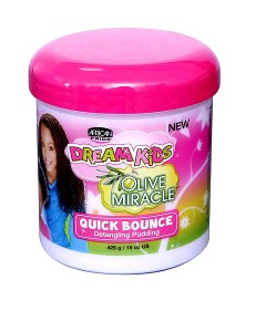 Dream Kids Quick Bounce Detangling Pudding