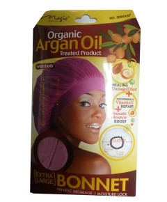 Magic Collection Organic Argan Oil Treated Product Bonnet 3004AST