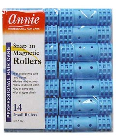Snap On Magnetic Rollers Light Blue