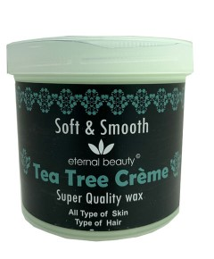 Eternal Beauty Soft And Smooth Tea Tree Creme Wax