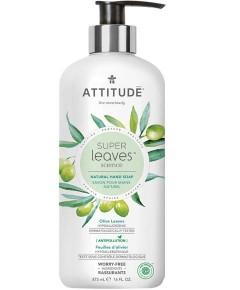 Super Leaves Science Natural Olive Leaves Hand Soap