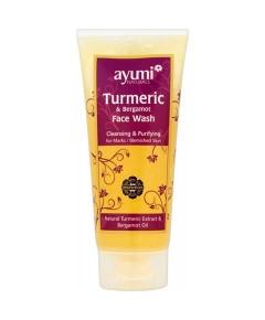 Ayumi Natural Wild Turmeric And Bergamot Face Wash