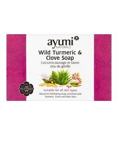 Ayumi Naturals Wild Turmeric And Clove Soap