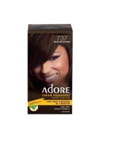 Adore Cream Permanent Hair Color Medium Brown 737